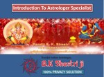 introduction to astrologer specialist
