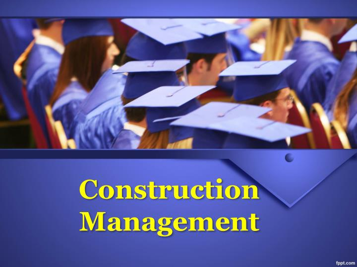 construction management n.