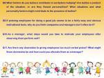 q8 what factors do you believe contribute