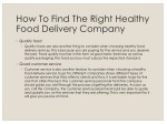 how to find the right healthy food delivery 1