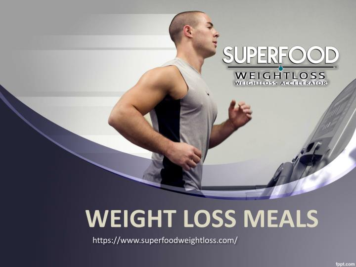 weight loss meals n.