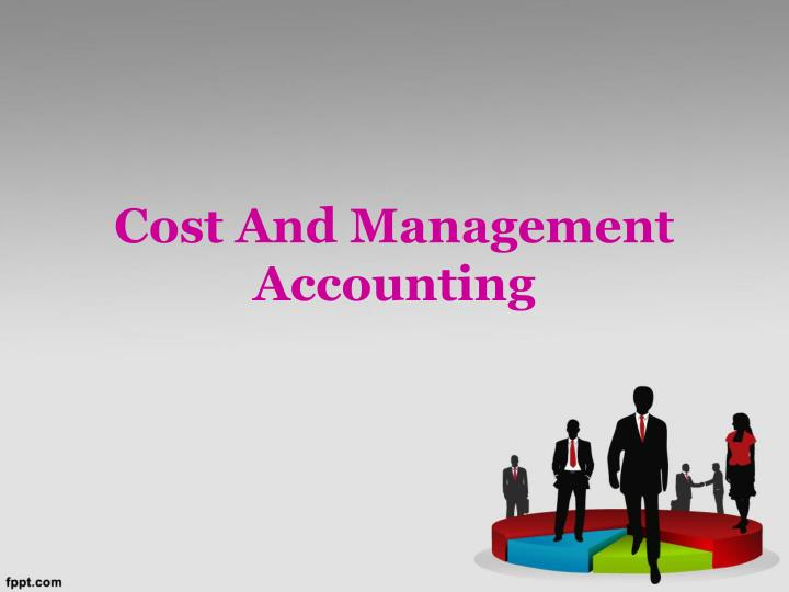 cost and management accounting n.