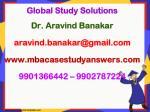 global study solutions dr aravind banakar aravind