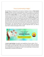 pranic crystal healing in nagpur