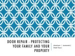 door repair protecting your family and your