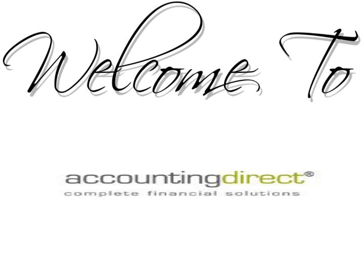 welcome to accountingdirect n.