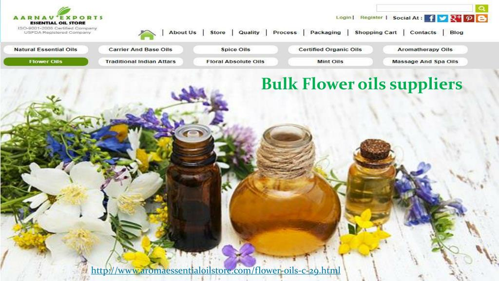 PPT - All Types Essential Oils Supplier @ Aroma Essential Oil Store