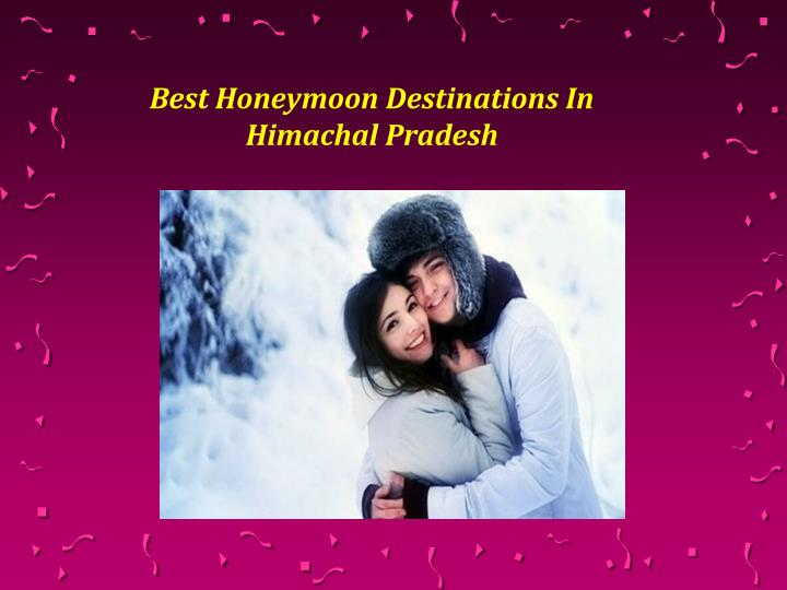 best honeymoon destinations in himachal pradesh n.