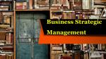 business strategic management