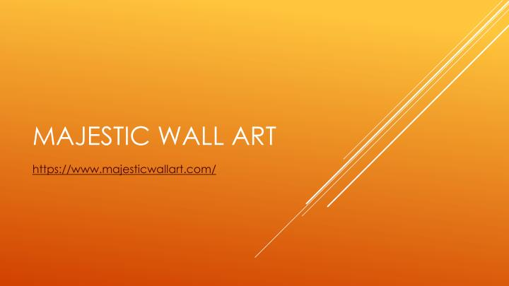 majestic wall art n.