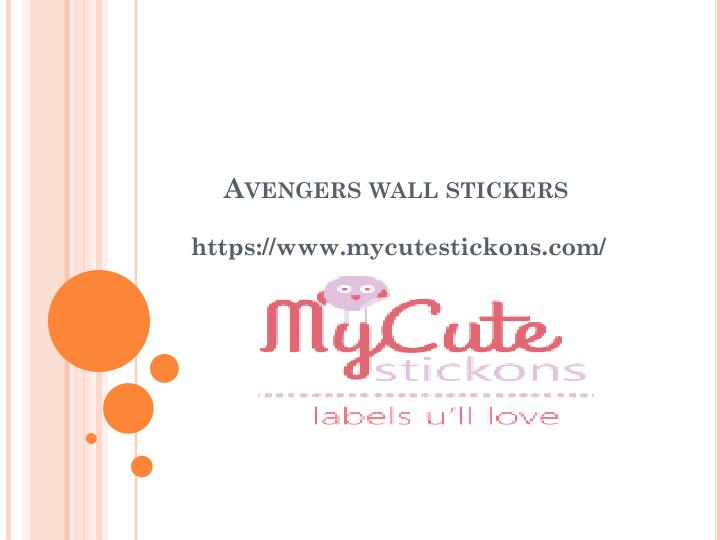 avengers wall stickers n.