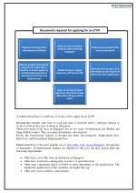 documents required for applying for an ltvp