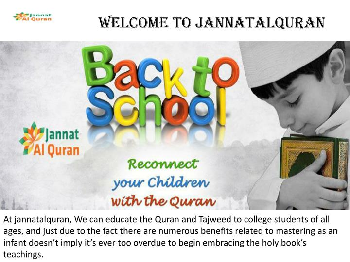 welcome to jannatalquran n.