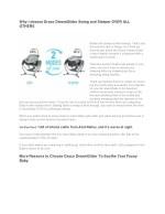 why i choose graco dreamglider swing and sleeper