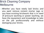 brick cleaning company melbourne 1