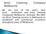 brick cleaning company melbourne
