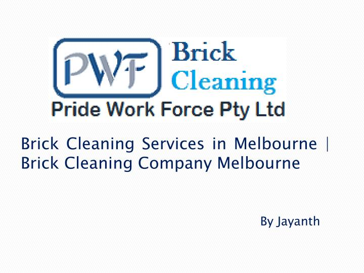 brick cleaning services in melbourne brick cleaning company melbourne n.