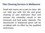 tiles cleaning services in melbourne