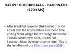 day 09 rudraprayag badrinath 170 kms