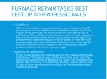furnace repair tasks best left up to professionals 1