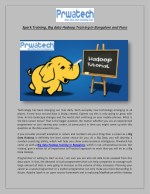 spark training big data hadoop training