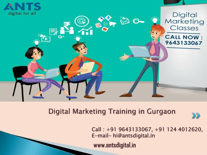 digital marketing training in gurgaon n.