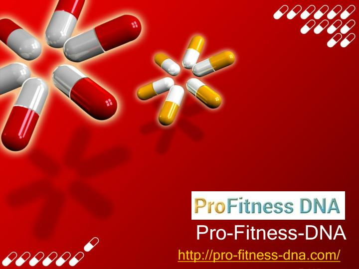 pro fitness dna n.