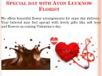 special day with avon lucknow florist