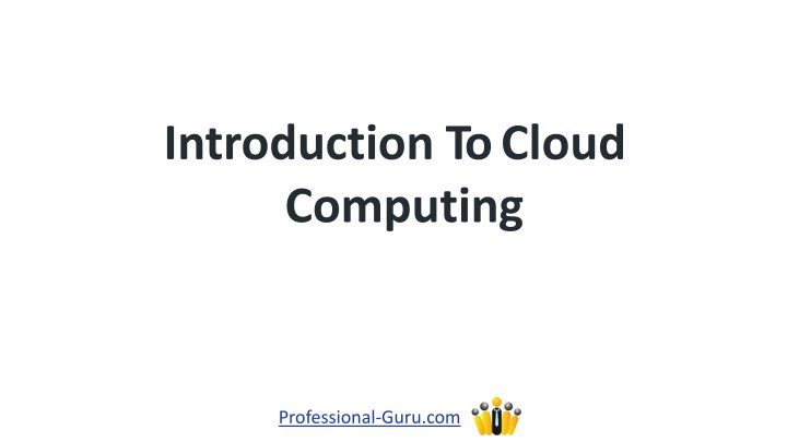 introduction tocloud computing n.