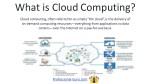 what is cloudcomputing