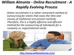 william almonte online recruitment a rapidly evolving process 1