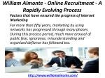 william almonte online recruitment a rapidly evolving process 2