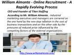 william almonte online recruitment a rapidly evolving process 3
