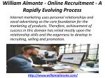 william almonte online recruitment a rapidly evolving process 4