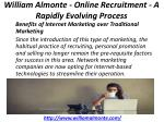 william almonte online recruitment a rapidly evolving process 6