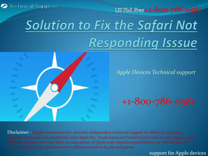 solution to fix the safari not responding isssue n.