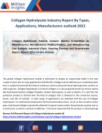 collagen hydrolysate industry report by types