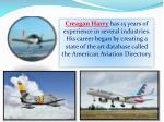 creagan harry has 15 years of experience
