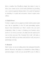 kiwi is another free wordpress plugin that makes