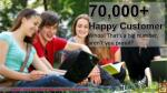70 000 happy customer whoa that s a big number