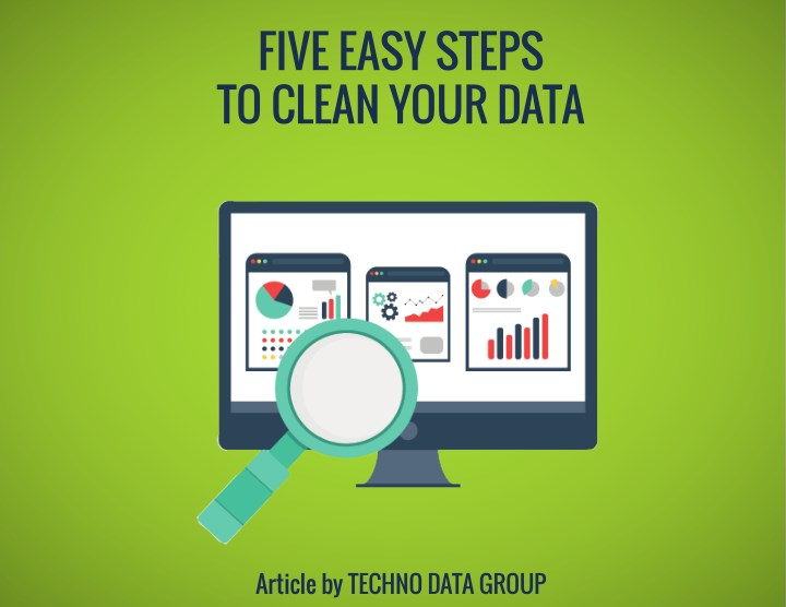 five easy steps to clean your data n.