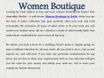 women boutique