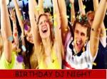 birthday dj night