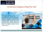 tjaircon engineering pte ltd