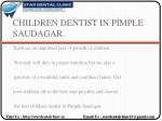 children dentist in pimple saudagar