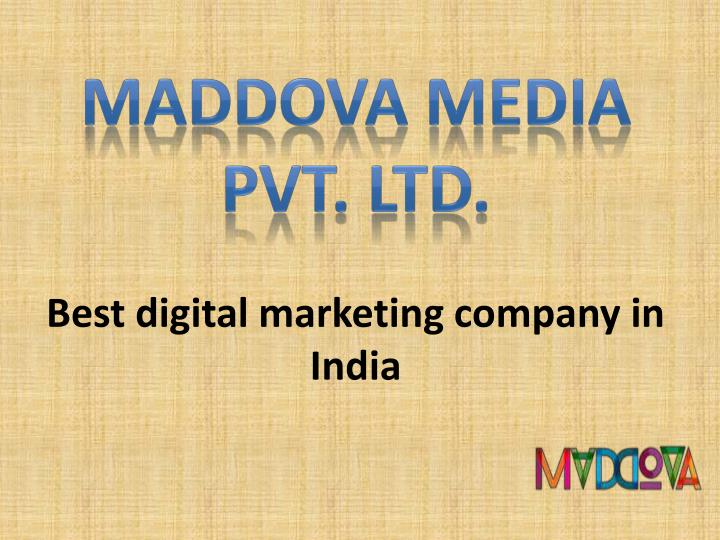 best digital marketing company in india n.