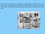 laminar flow workstations are designed