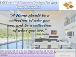 add beautiful concrete designs for your home