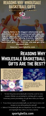 reasons why wholesale basketball gifts
