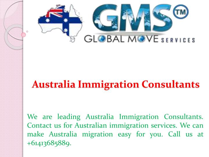 australia immigration consultants n.